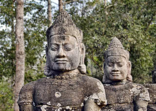 カンボジア石造