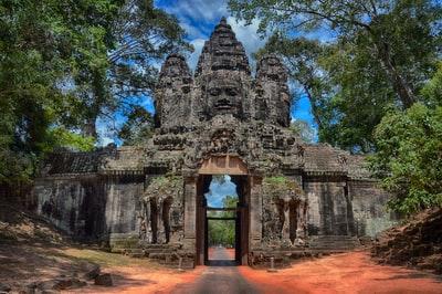 カンボジア遺跡